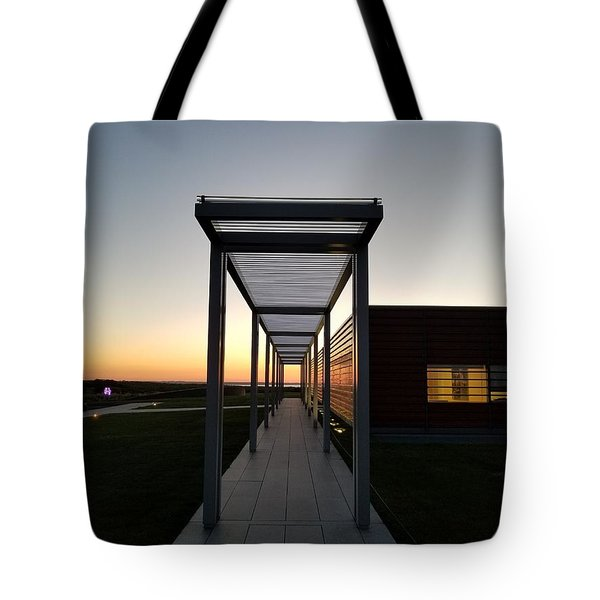 Tote Bag featuring the photograph Sag Harbor Sunset by Rob Hans