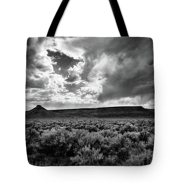 Sage And Clouds Tote Bag