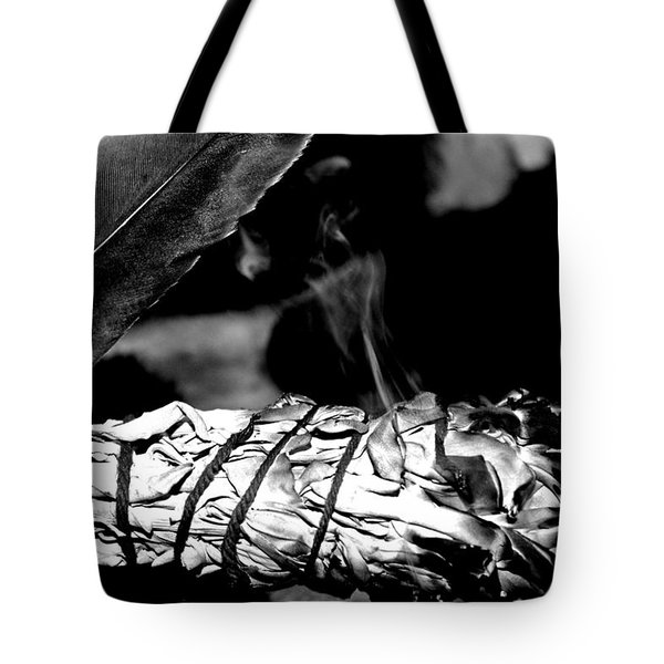 Saging Of The Black Bear 1 Tote Bag