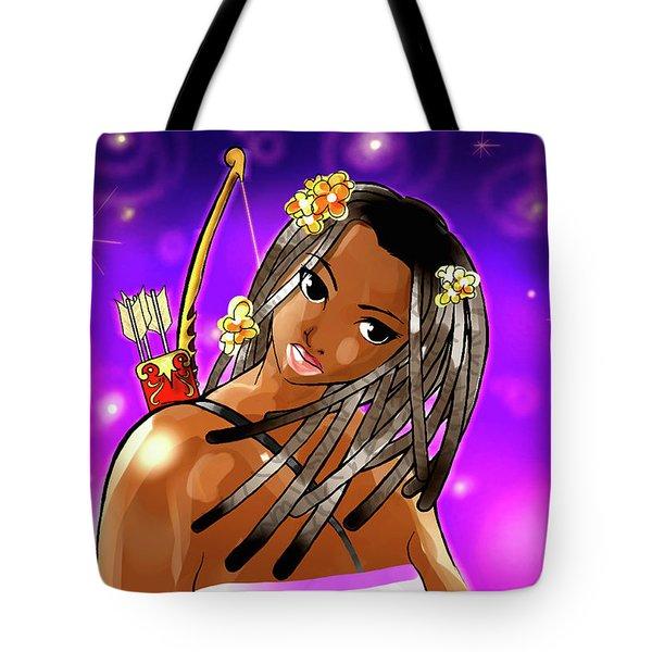 Sagittarius The Archer Tote Bag