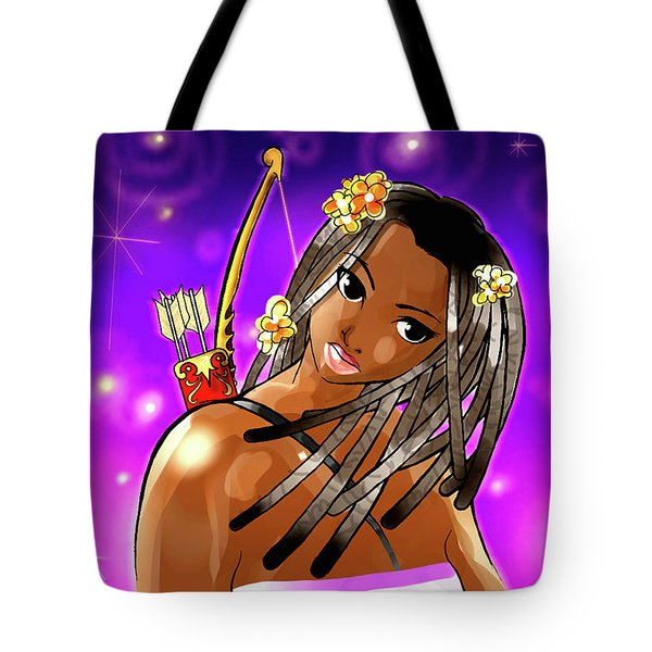 Sagittarius The Archer Tote Bag