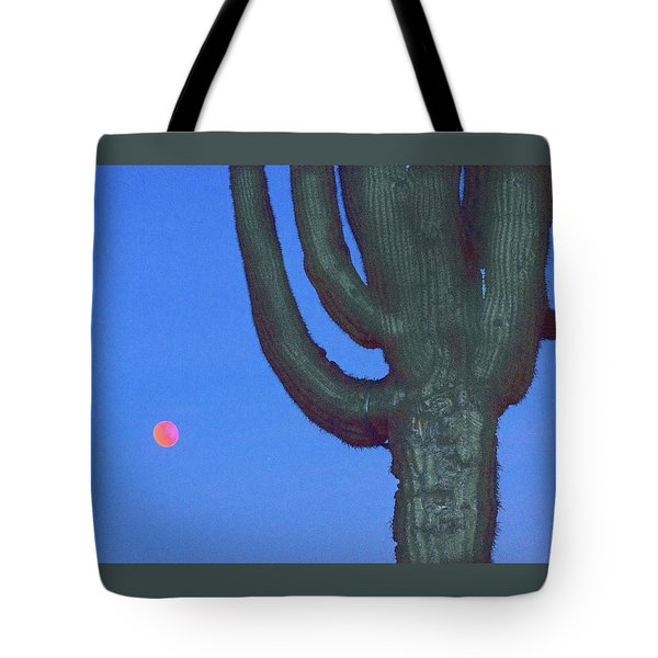 Saguaro And Eclipse IIi Tote Bag