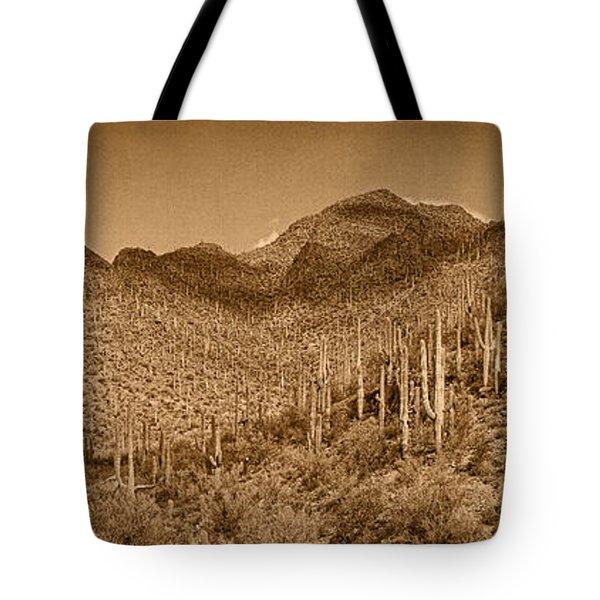 Saguaro Hillsides Tint  Tote Bag