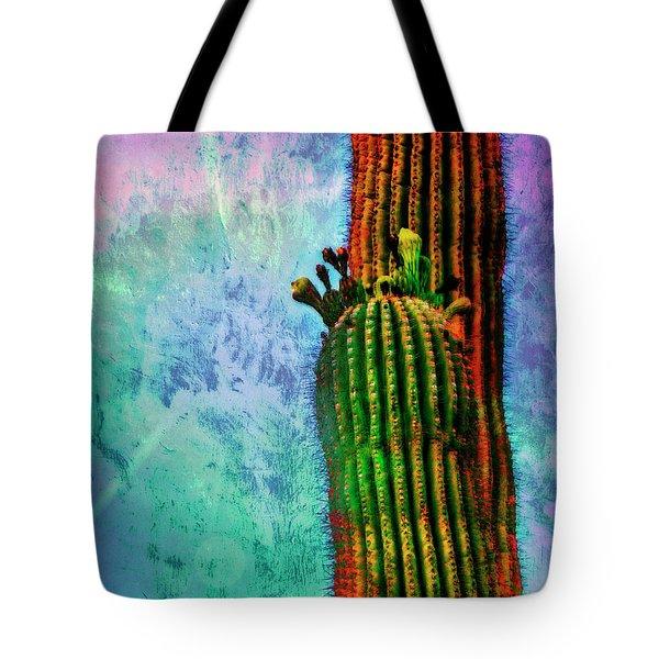 Saguaros Tote Bag