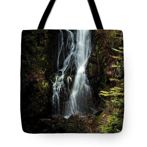 Sahale Falls Tote Bag