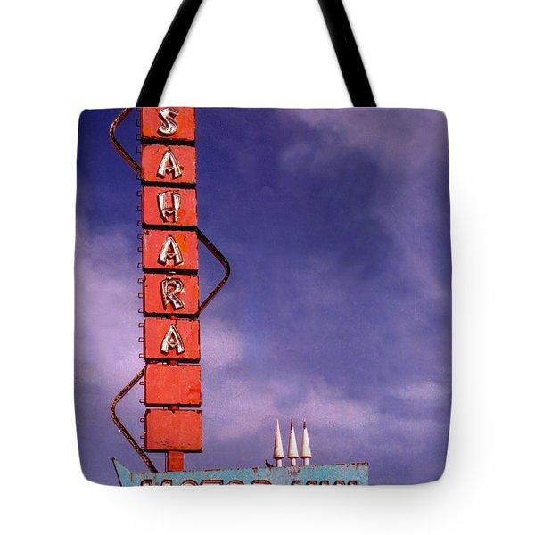 Sahara Motor Inn Tote Bag