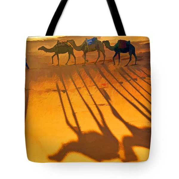Sahara Shadows Tote Bag
