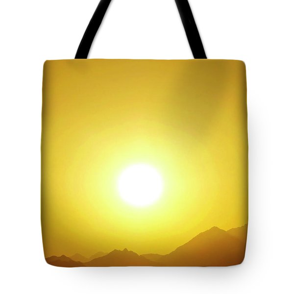 Sahara Sunset 2 Tote Bag