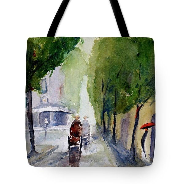 Saigon 1967 Tu Do Street Tote Bag