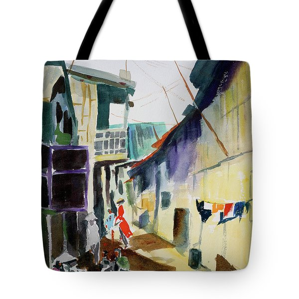 Saigon Alley Tote Bag