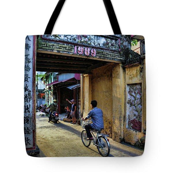 Saigon History  Tote Bag