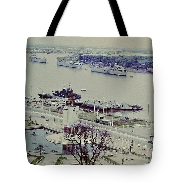 Saigon River, Vietnam 1968 Tote Bag