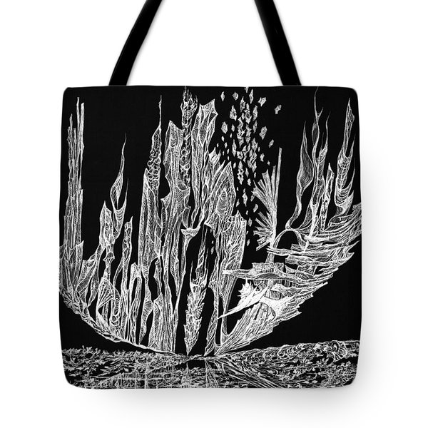 Sail Away Tote Bag by Charles Cater