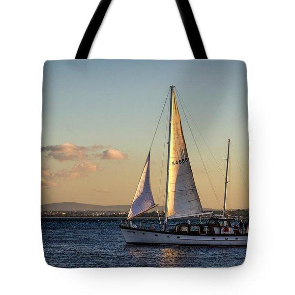 Sail Away From Lisbon Tote Bag