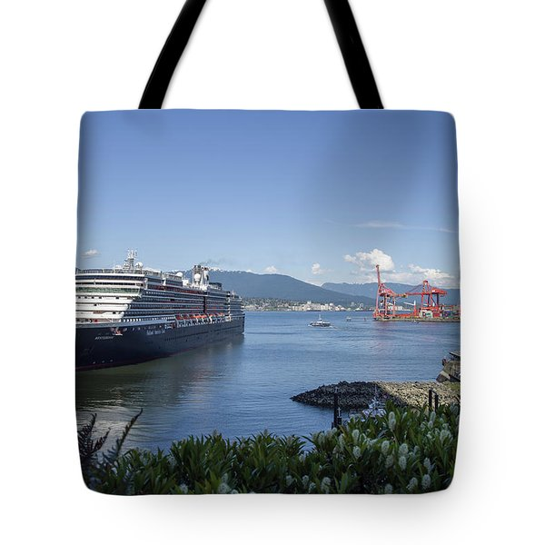 Tote Bag featuring the photograph Sail Away by Ross G Strachan