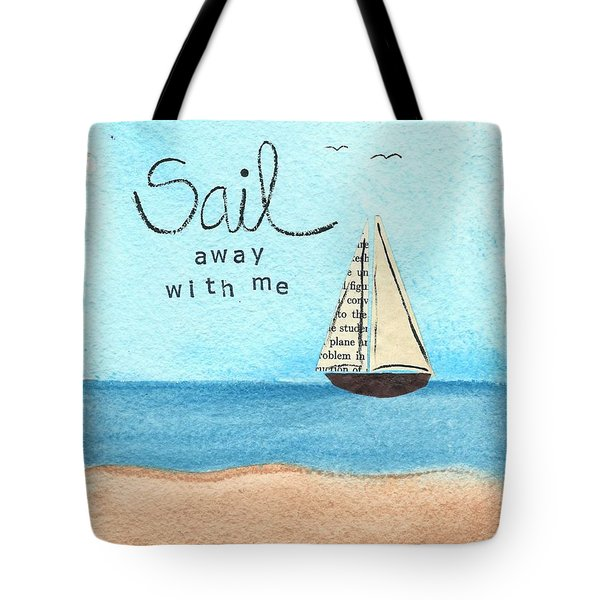 Sail Away With Me Tote Bag