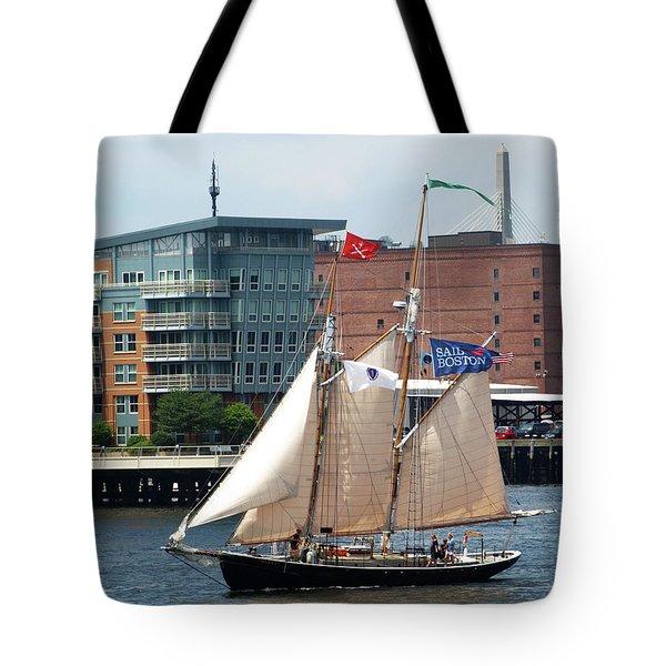 Sail Boston Tote Bag