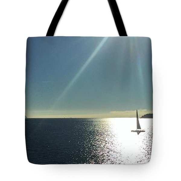 Sail Free Tote Bag by Victor K