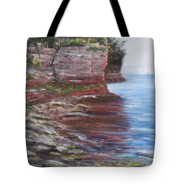 Sail Into The Light Tote Bag