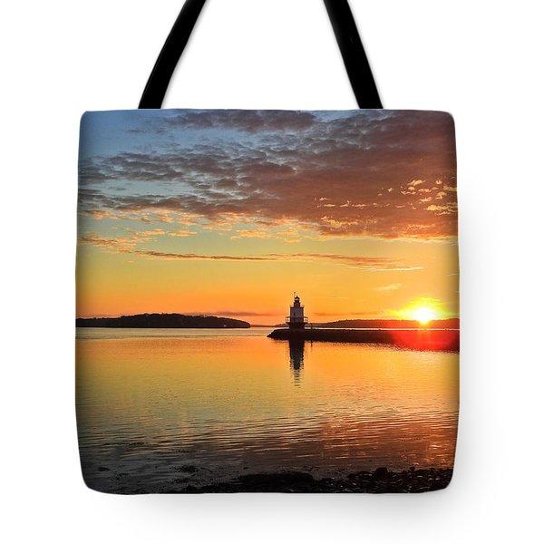 Sail Into The Sunrise Tote Bag