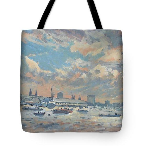 Sail Regatta On The Ij Tote Bag