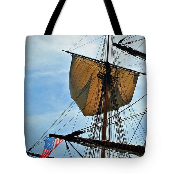 Sail To The Sky Tote Bag