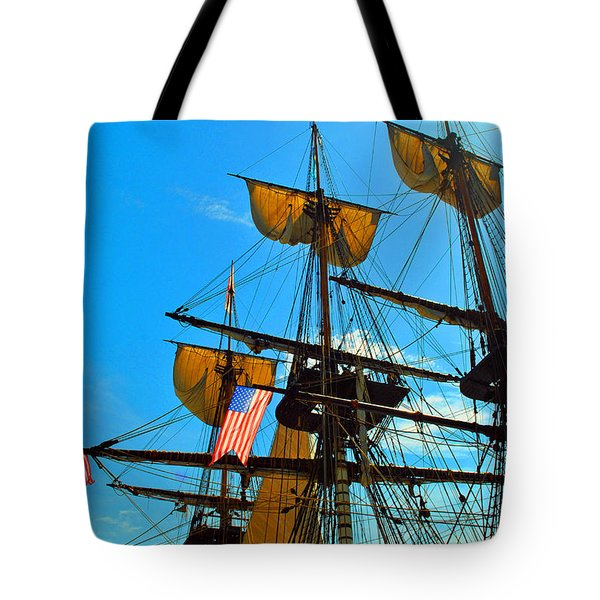 Sail To The Wind Tote Bag