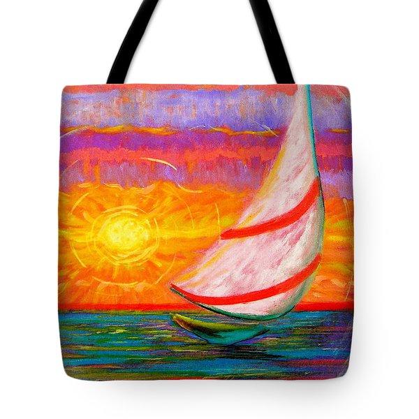 Sailaway Tote Bag