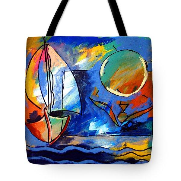 Sailboat 1 Tote Bag