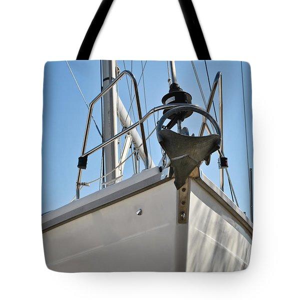 Sailboat Bow 3 Tote Bag