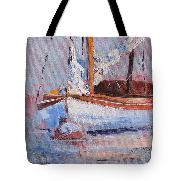 Sailboat Wisdom Tote Bag
