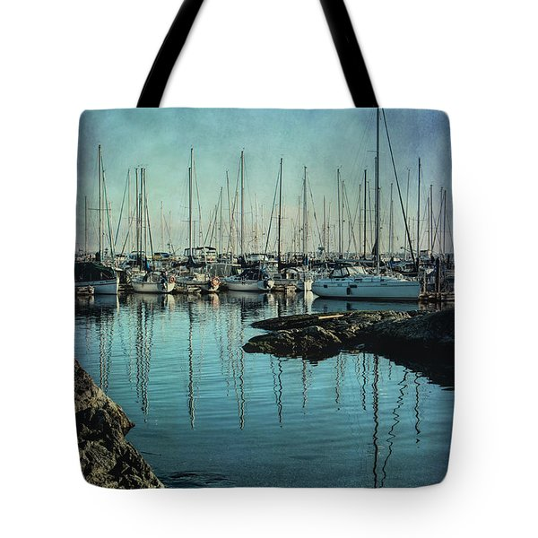 Marina - Digitally Textured Tote Bag