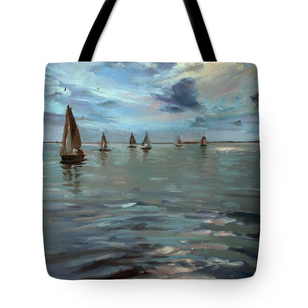 Sailboats On The Chesapeake Bay Tote Bag