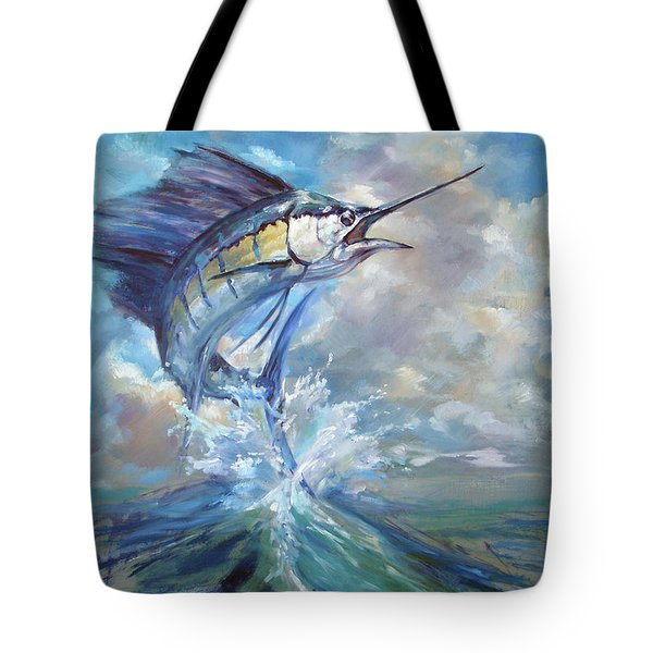 Sailfish And Frigate Tote Bag