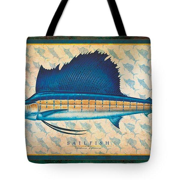 Sailfish Tote Bag