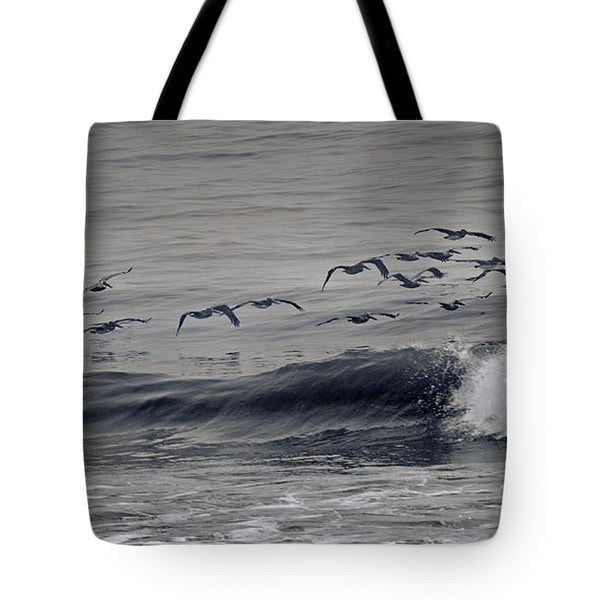 Sailing Along Tote Bag by Betsy Knapp