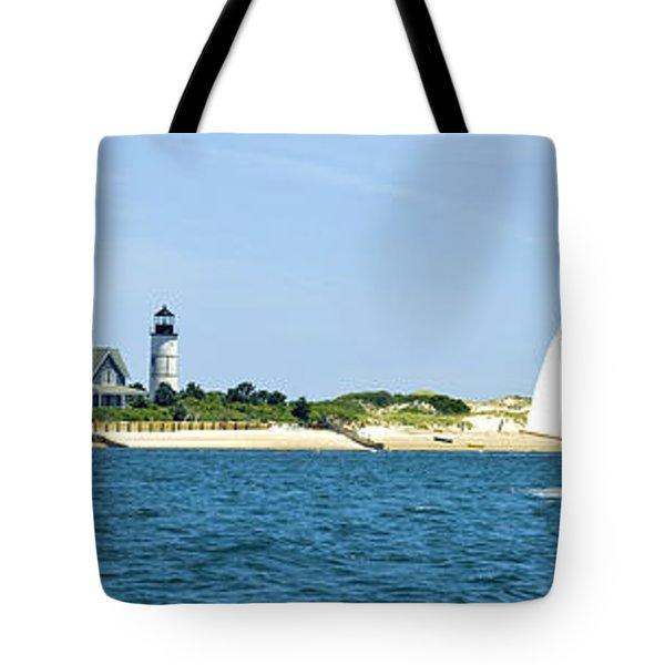 Sailing Around Barnstable Harbor Tote Bag