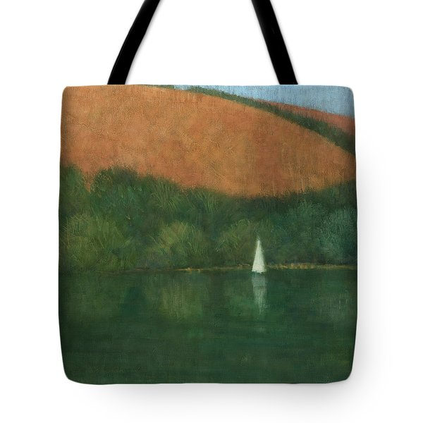 Sailing At Trelissick Tote Bag