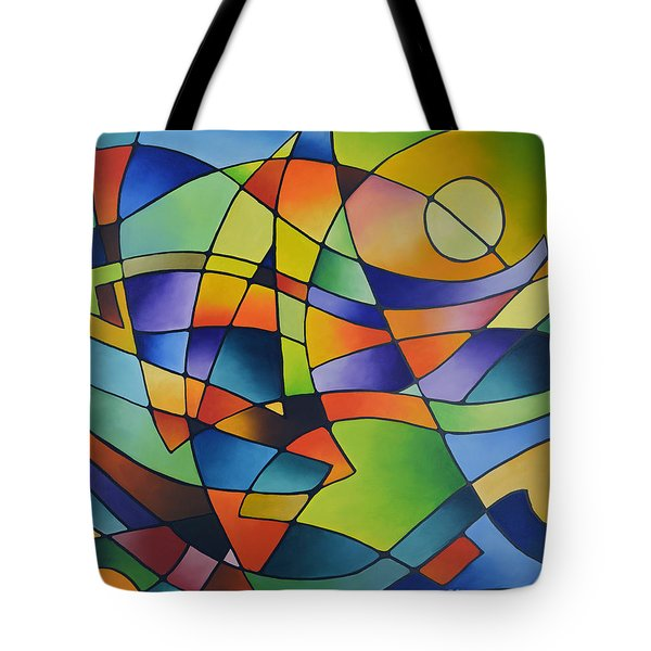 Sailing Away, Canvas Two Tote Bag