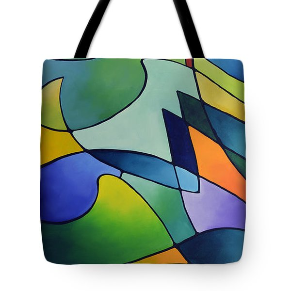 Sailing Away, Canvas One Tote Bag