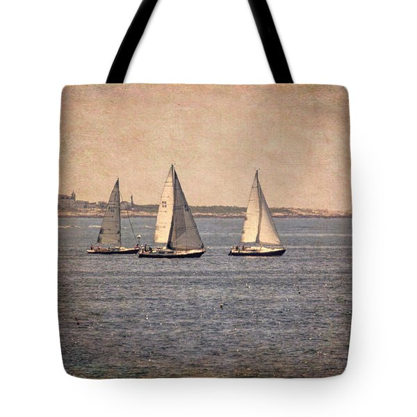 Tote Bag featuring the photograph Sailing  by Betty Pauwels