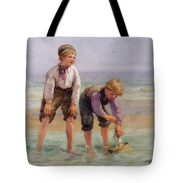 Sailing Boats  Tote Bag by Edith Hume