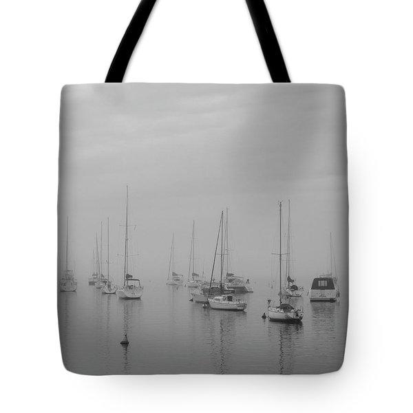 Sailing Bw Tote Bag by Silvia Bruno