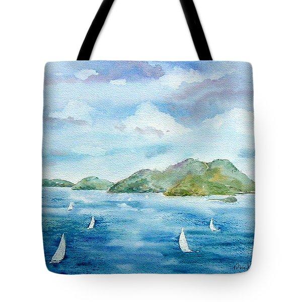 Sailing By Jost Tote Bag