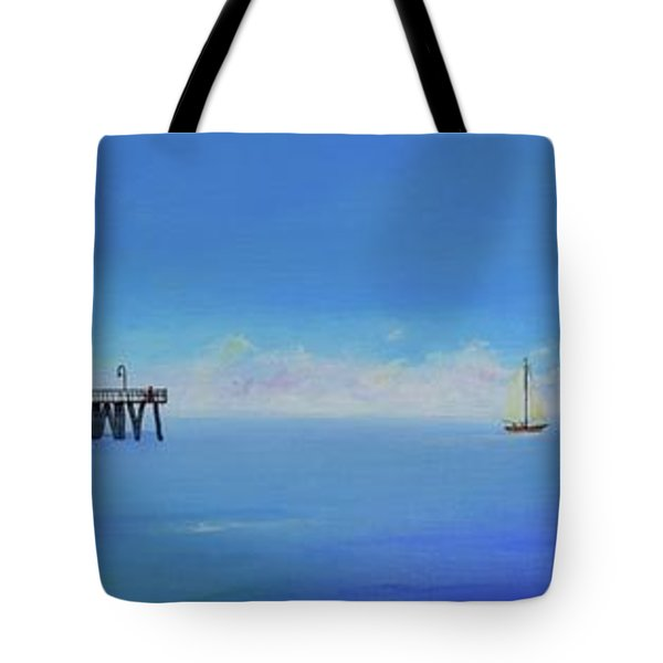 Sailing By San Clemente Tote Bag