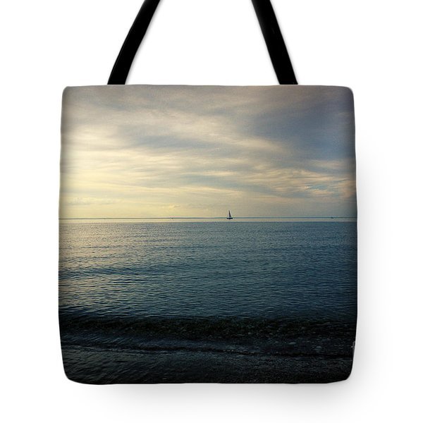 Sailing Cedar Tote Bag