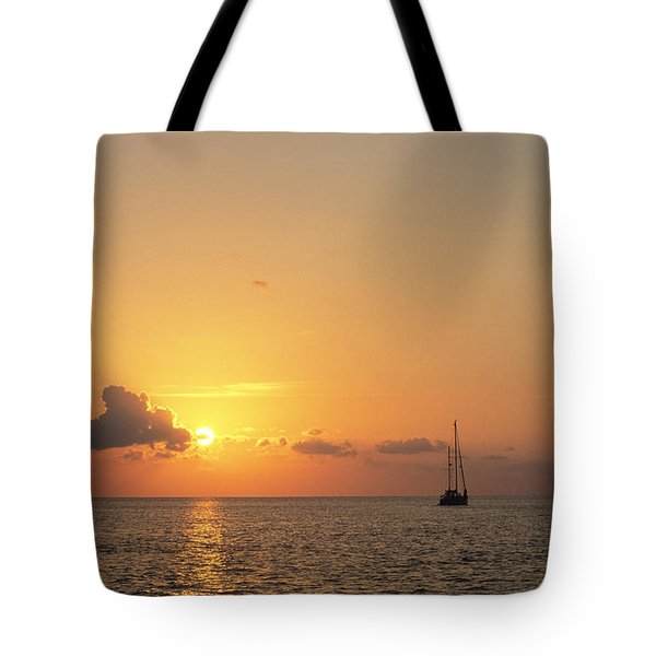 Crusing The Bahamas Tote Bag