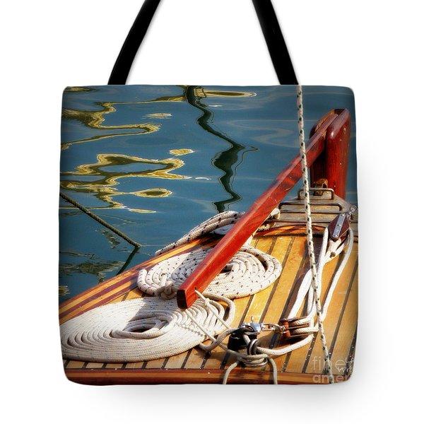 Sailing Dories 4 Tote Bag