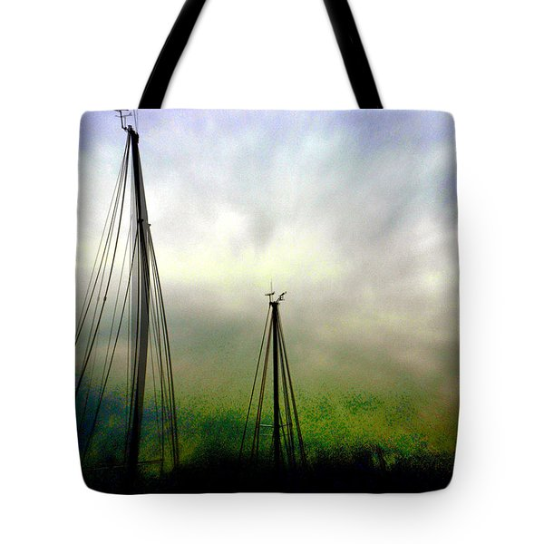 Tote Bag featuring the photograph Sailing by EDi by Darlene