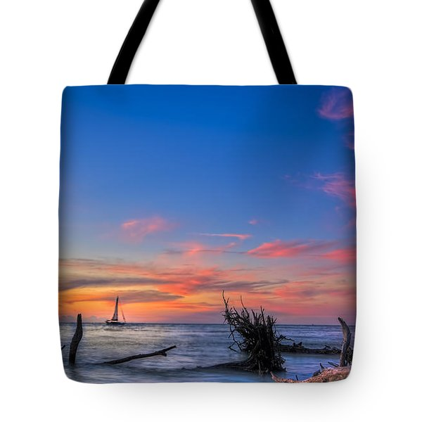 Sailing Hazard Tote Bag